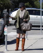 Alyson Hanningan out &amp;amp; about in Santa Monica 30-10-2010