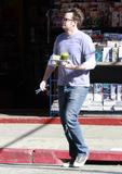 Matthew Perry with green beverage (Feb 10) x 3 HQs