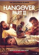 Hangover 2 signed Cast Picture 25.05.2011 (1X)