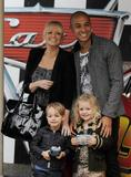 Emma Bunton-with family-Cars 2 premiere