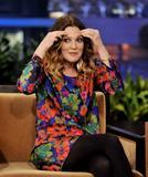 Дрю Бэрримор, фото 2852. Drew Barrymore 'The Tonight Show with Jay Leno' in Burbank - 02.02.2012*>> Video <<, foto 2852,