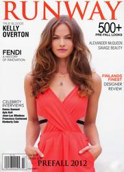 Kelly Overton x3 Runway Prefall, 2012