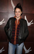 Shailene Woodley at the Grey Goose Blue Door in Park City, Utah 01/19/13