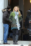 Блейк Лайвли, фото 4829. Blake Lively On the Set of Gossip Girl in New York City - March 1, 2012, foto 4829