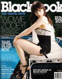 Zooey Deschanel in BlackBook magazine - HQ Scans