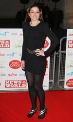 Nikki Sanderson In Black Nylons