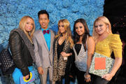 Renee Olstead & Francia Raisa at Just Jared's 30th Birthday Party at The Pink Taco in Los Angeles 03/223/12 (HQ)